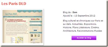 Les Paris DLD en lice aux Golden Blog Awards 2012