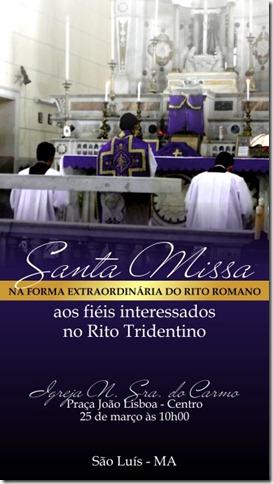 FE em São Luís do Maranhão, 25-03-2012-Cartaz