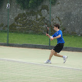 Conor Caheny (Sligo Tennis Club) plays at Junior West of Ireland Tennis Tournament.
