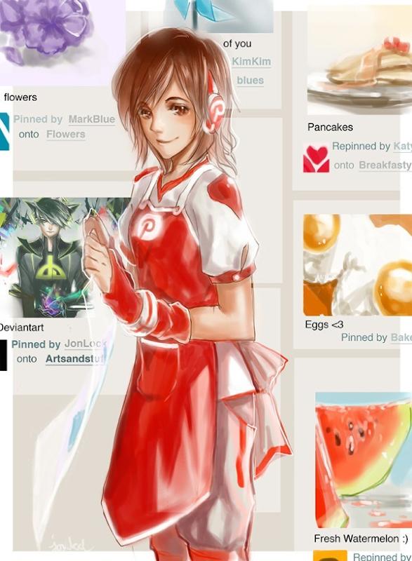 Pinterest manga