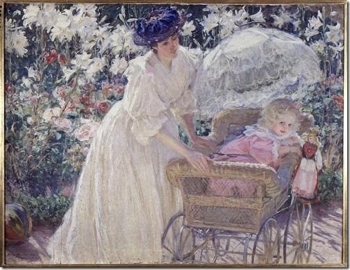 madre con bebe vintage (1)