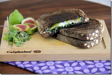 Fig & Chevre Panini 2
