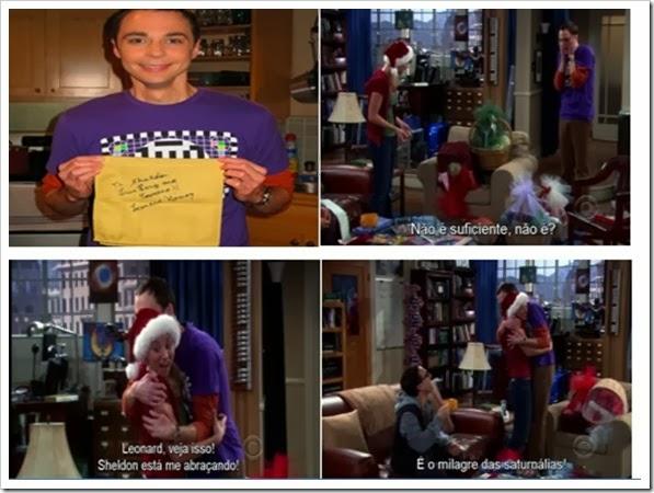 Primeiro abraço de Sheldon Cooper