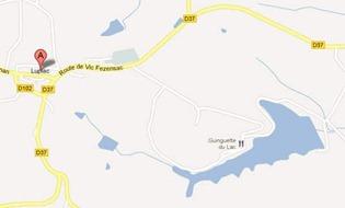 Lupiac lake