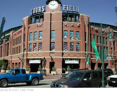 'Coors Field' photo (c) 2007, Cliff - license: https://creativecommons.org/licenses/by/2.0/