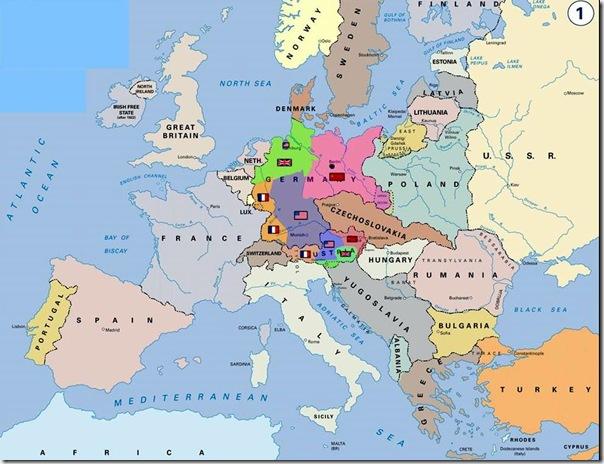 歐戰地圖三