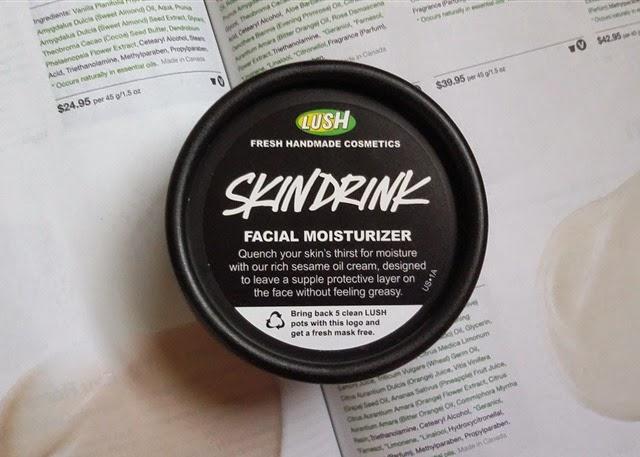 Lush Skin Drink Moisturizer