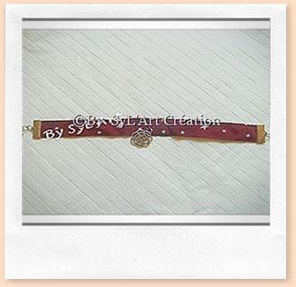 Bracelet Etoiles et Fleur