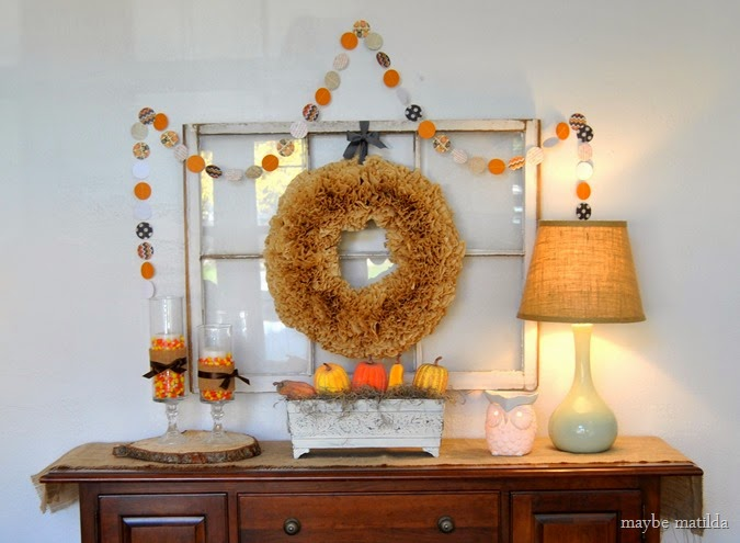 Simple fall display