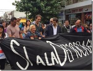 El acto por el Día de la Memoria estuvo encabezado por representantes del Estado, agrupaciones sociales y vecinos de La Costa