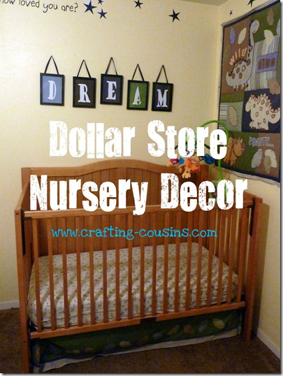 nursery decor text