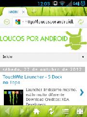 Navegador Loucos Por Android Beta