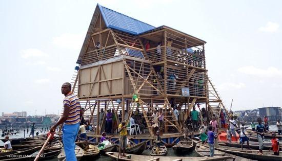 Escolas flutuantes da Nigéria 12