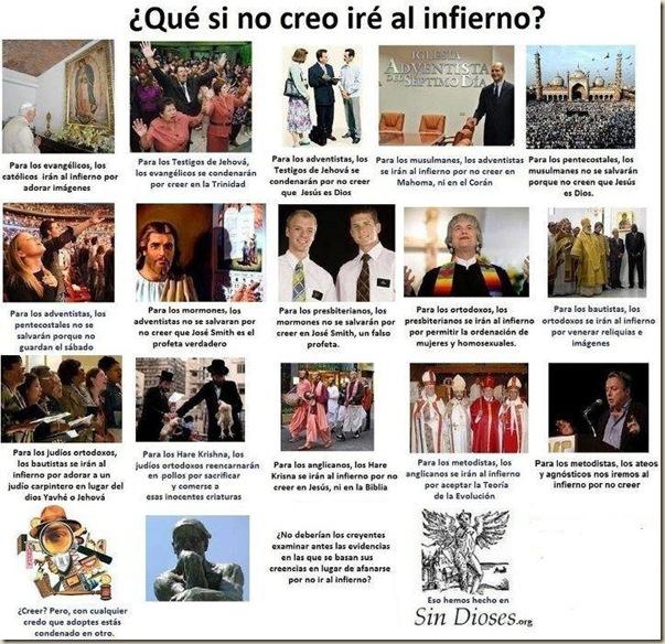 infierno ateismo humor grafico dios biblia jesus religion desmotivaciones memes (19)
