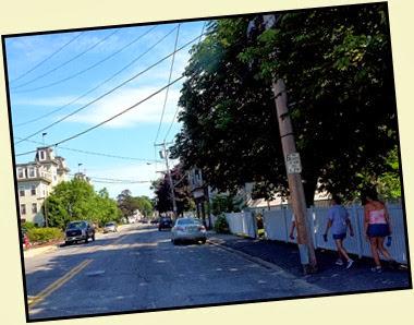 02 - walking Main Street in Bar Harbor