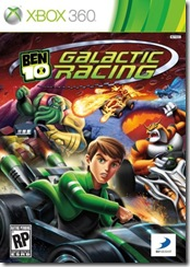Jogo Ben 10 Ultimate Alien – Galactic Racing