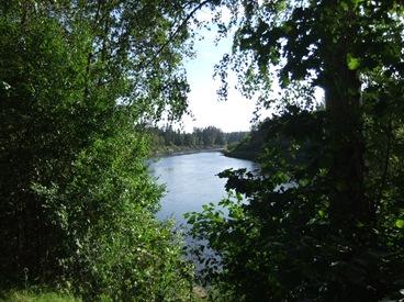 río Gauja, Cēsis