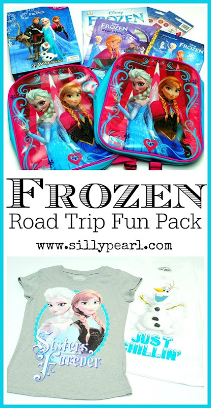Frozen-Themed Road Trip Fun Pack Gift Idea - The Silly Pearl