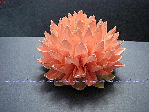 Как сделать цветок из салфеток лотос