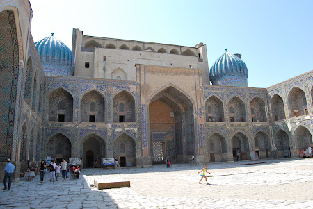 Obiective turistice Samarkand - Registan