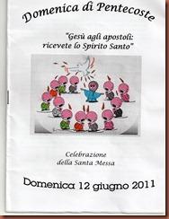 libretto messa fronte