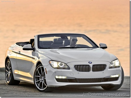 BMW 650i Convertible 6