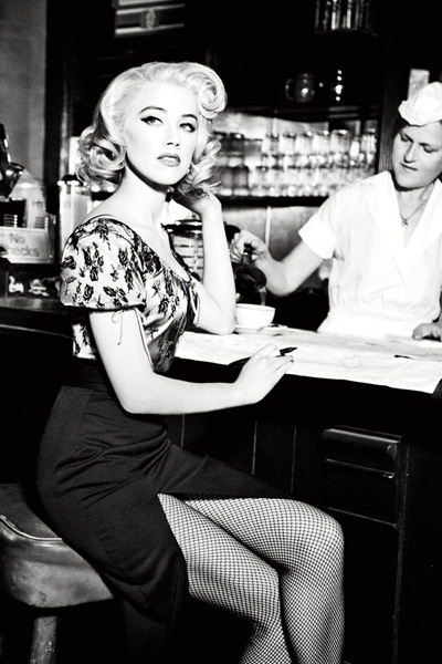 Amber Heard by Ellen von Unwerth for Guess F/W 2011