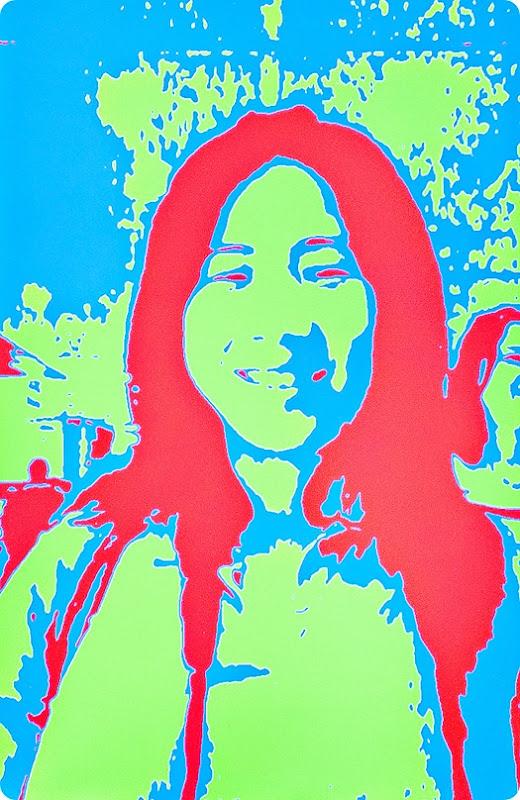 Selfie-Warhol-style
