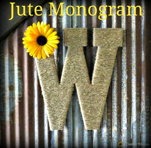 Jute Monogram