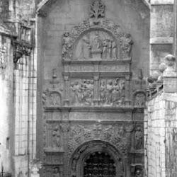 26.- Francisco de Colonia. Puerta de la Pellejería. Catedral de Burgos