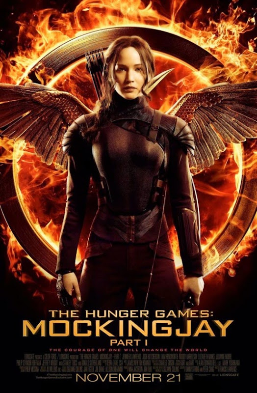 The Hunger Games - Mockingjay - Part 1 (Póster oficial)