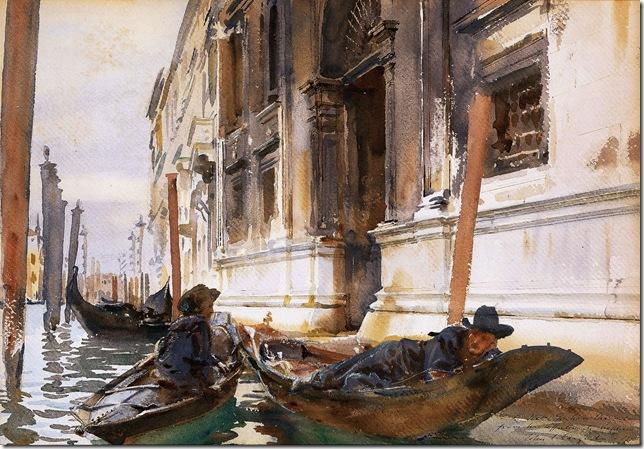 John-Singer-Sargent- venecia 4