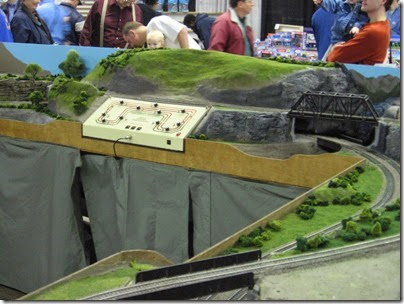 IMG_5367 Control Panel & Mountains on the LK&R HO-Scale Layout at the WGH Show in Portland, OR on February 17, 2007