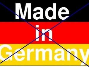 Μποϊκοτάζ στα Γερμανικά προϊόντα αποφάσισαν δικηγόροι, γιατροί και μηχανικοί