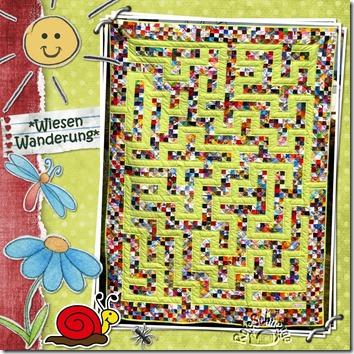 Quilt066-Wiesenwanderung
