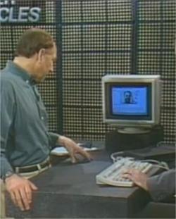 Así es como era internet en 1995