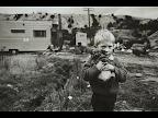 Tasmanian boy and friend. <em>© Anthony Browell</em>