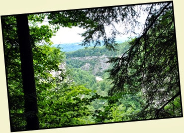 03b - North Rim Trail - Another View of the gorge