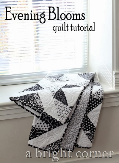 Evening Blooms quilt tutorial