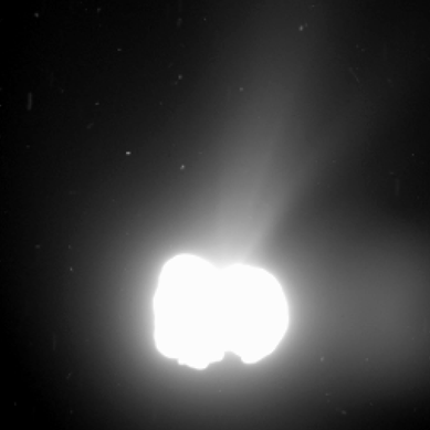 atividade no cometa Churyumov-Gerasimenko