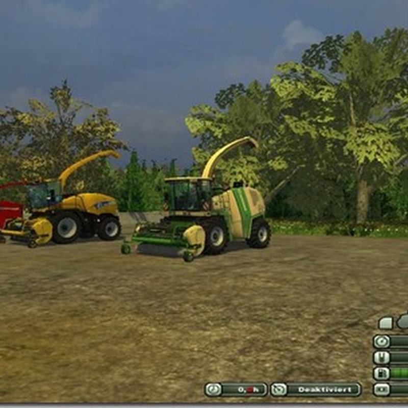 Farming simulator 2013 - New Holland and Case PU 380 300 FP v 1.1