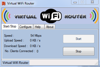 Virtual WiFi Router Software