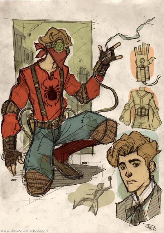 personagens-steampunk-DenisM79-desenhos-desbaratinando (23)