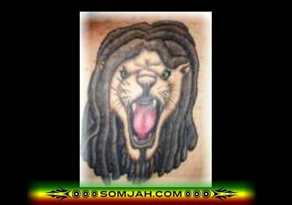 Tatoo Reggae SOMJAH 06