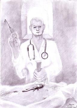 Criminalul legal din spitalul mortii
