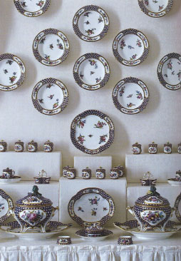 A display of Svres porcelain to make any collector swoon.
