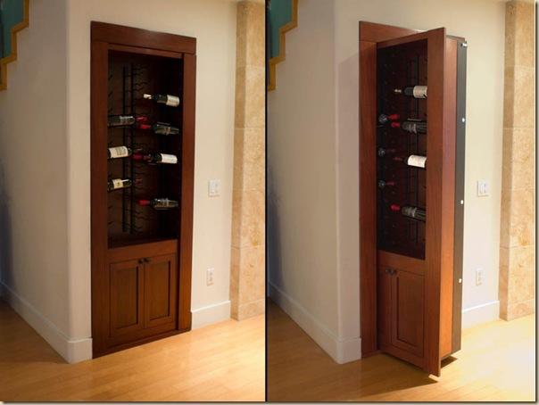 Cachettes, passages secrets et portes dérobées