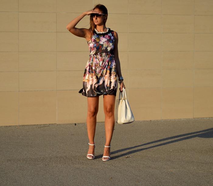 Romantic dress, Romantic Outfit, Fashion Blogger, Outfit, Prada Bag, Dolce & Gabbana Inspired, Outfit Matrimonio
