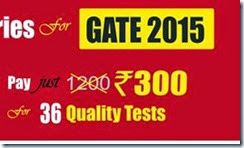 IES Made Easy GATE Test Series at Rs. 300 only