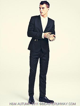 H&M Autumn 2011 Singapore Men Jacket Suit leather shoes